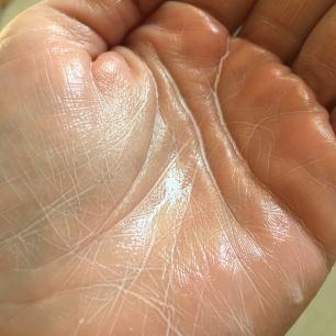 huile après humidification